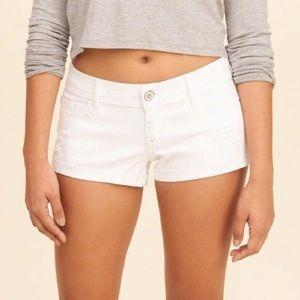 Abercrombie & Fitch Jeans Shorts White Colour